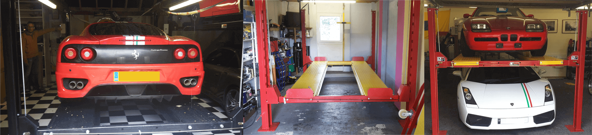 Classic Car Storage with Parking Lifts