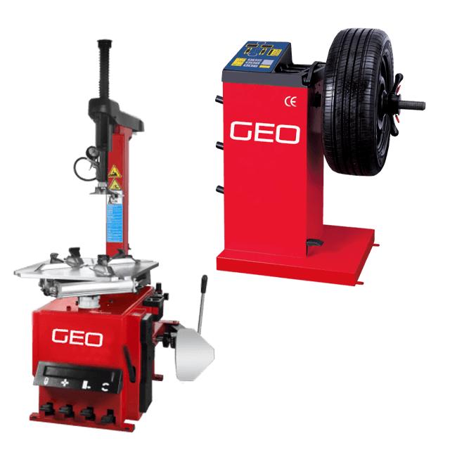 Entry Level Tyre Machine and Wheel Balancer Package