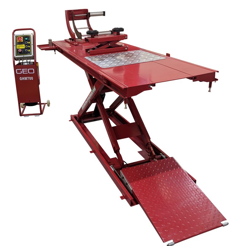 GHM 700 kg Motorcycle Scissor Lift