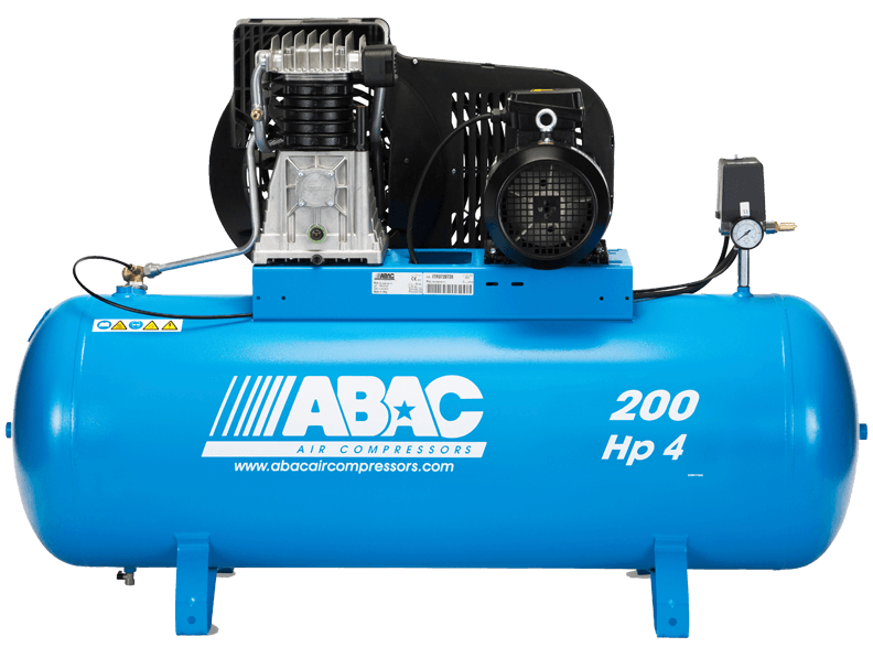 Abac B4900 Pro 4 Hp 200 Litre Air Compressor