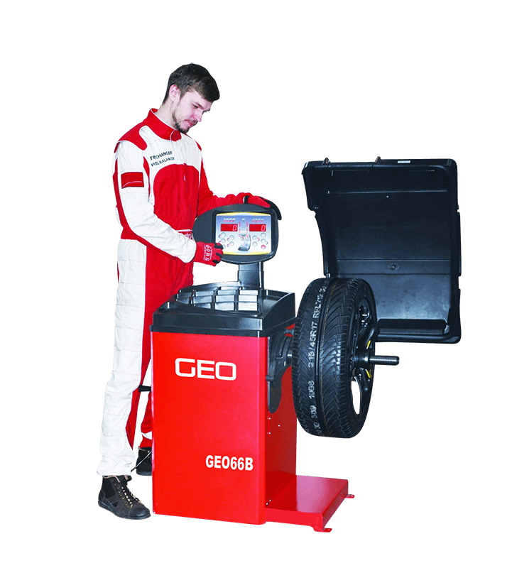 GEO Pro Semi Automatic Wheel Balancer