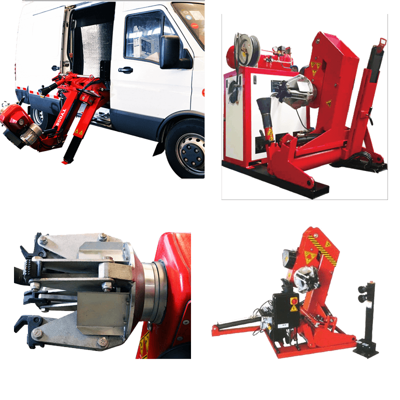 Mobile Commercial Tyre Machine