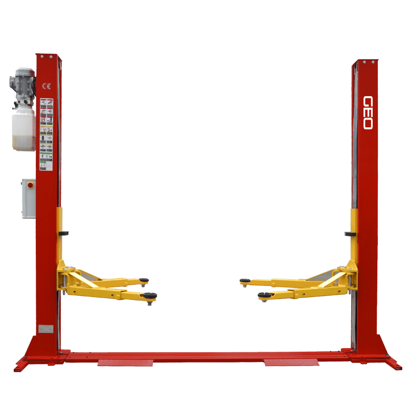 4 Tonne H Frame Manual Lock Release 2 Post Lift