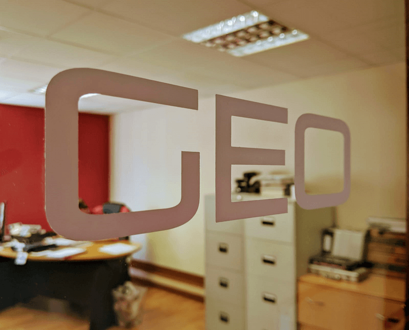 Replacement GEO Vinyl for Front of Machine
