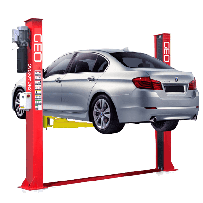 Manual Release 4 Ton 2 Post Lift | UK CE Certified 2 Post ... on