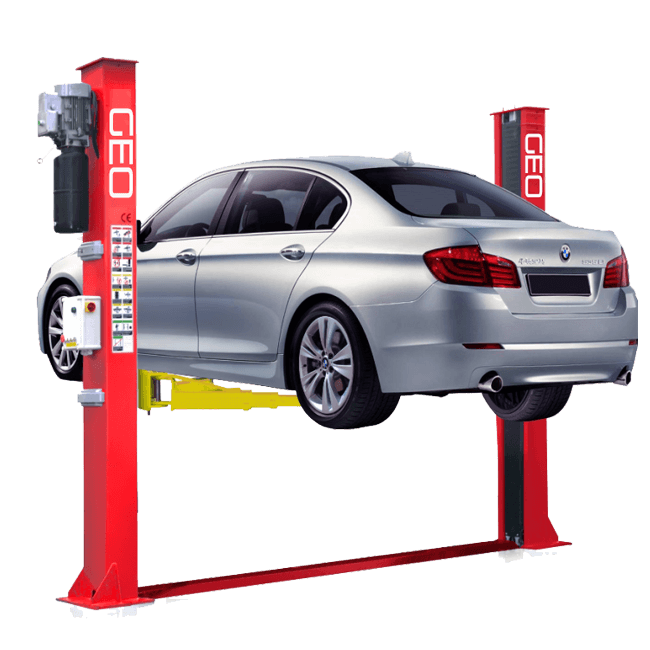 5_5 Tonne Electronic Release 2 Post Car Lift