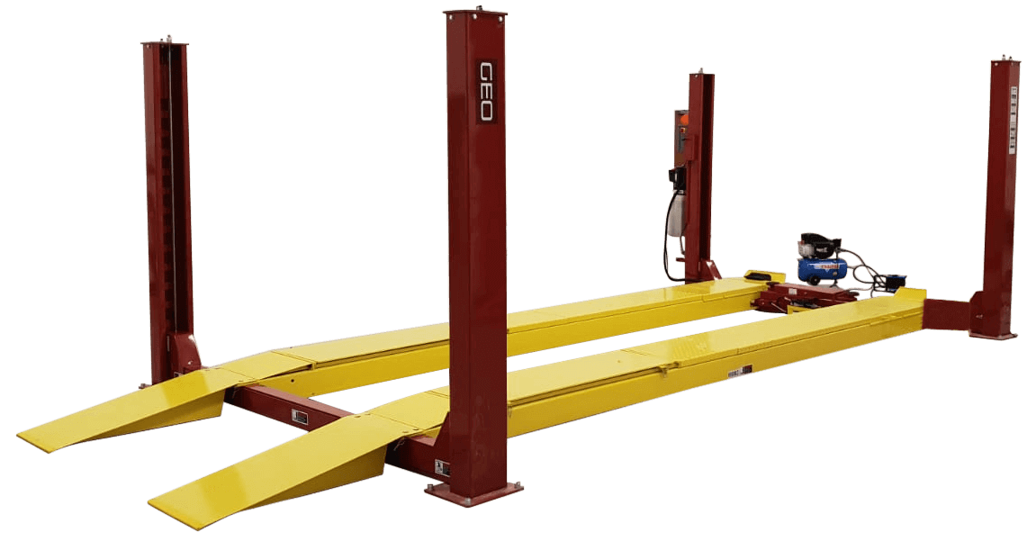 4 Tonne 4_3 Metre 4 Post Wheel Alignment Car Lift