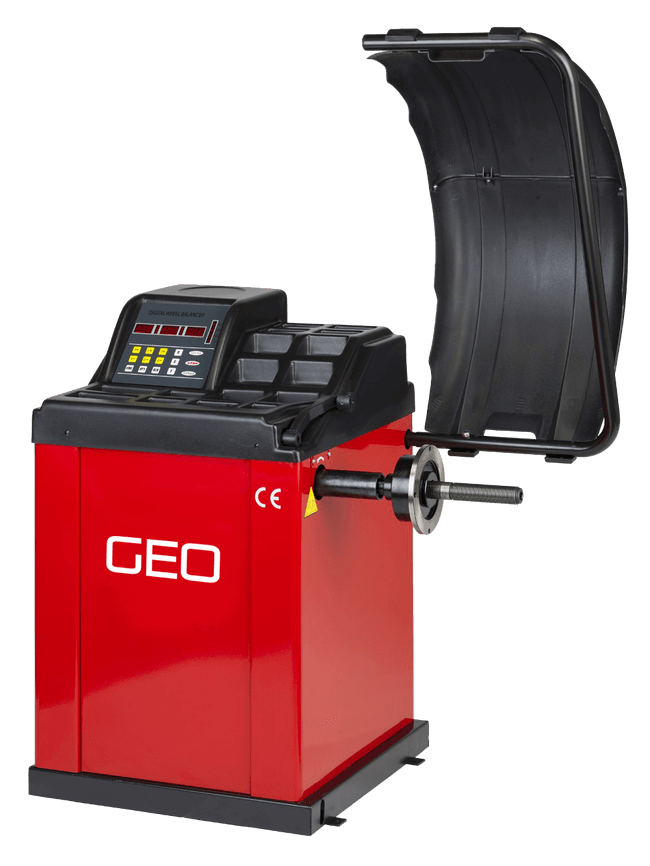 GEO Semi Automatic Wheel Balancer
