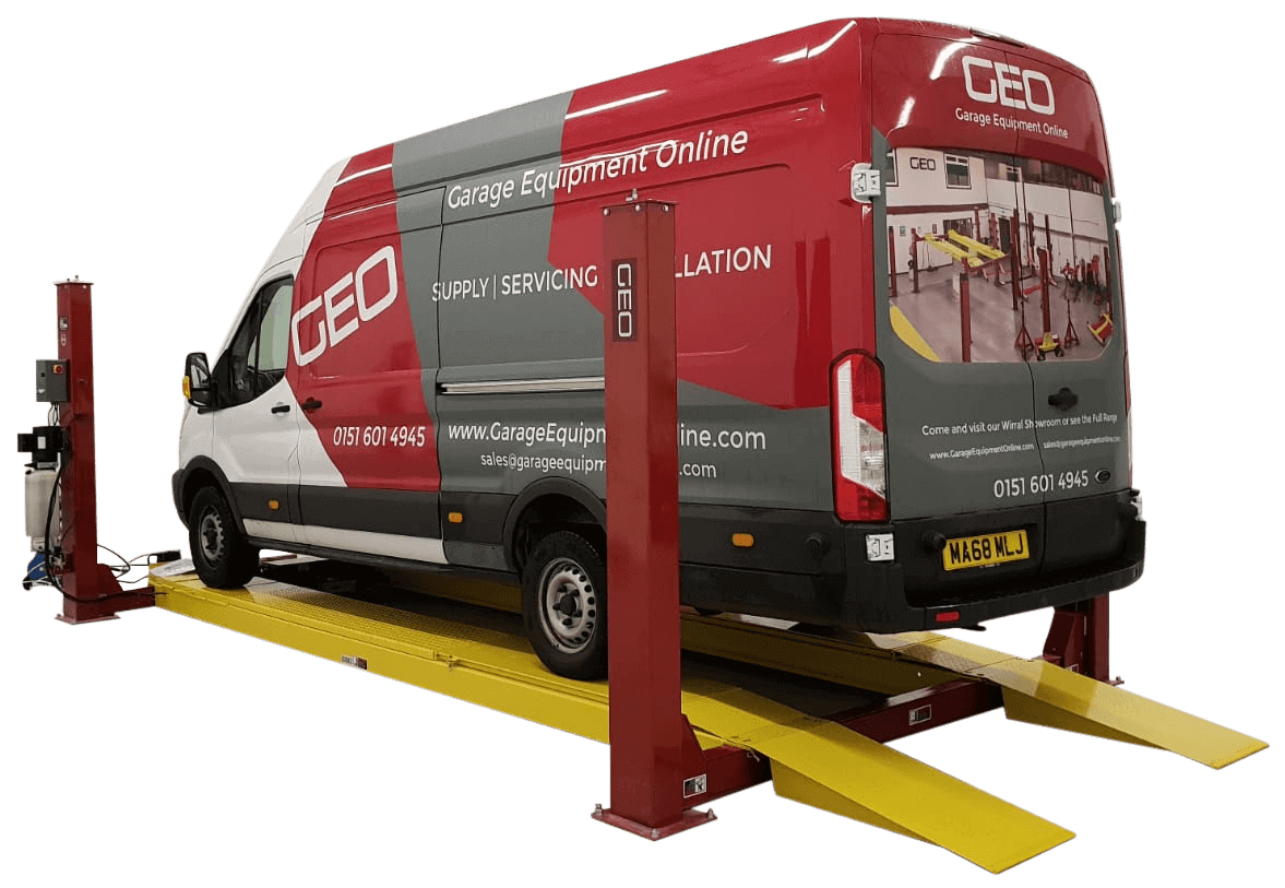 4_5 Tonne 4_8 Metre 4 Post Wheel Alignment Car Lift