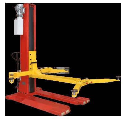 Geo Spm2500 Single Post Mobile Lift 2 5 Ton