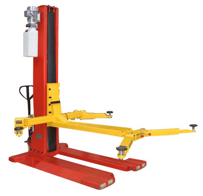 GEO SPM2500 Single Post Mobile Lift 2_5 Ton