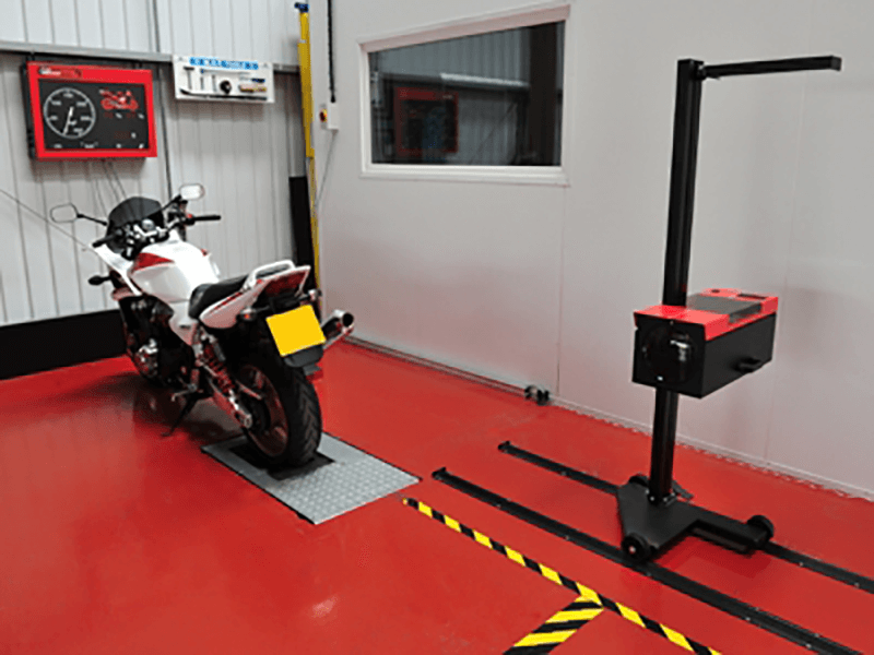 Class 1 and 2 Motorcycle MOT Bay
